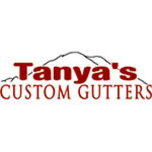 Tanyas Custom Gutters Logo